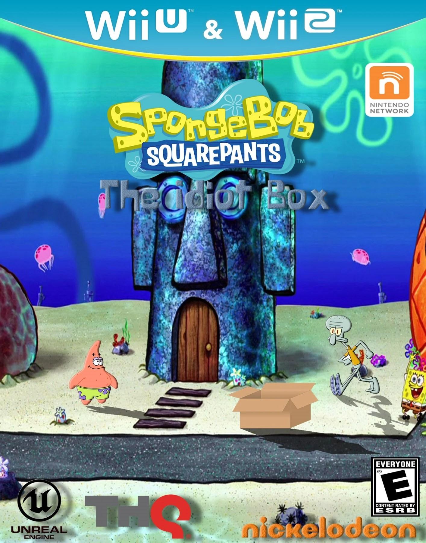 spongebob squarepants the idiot