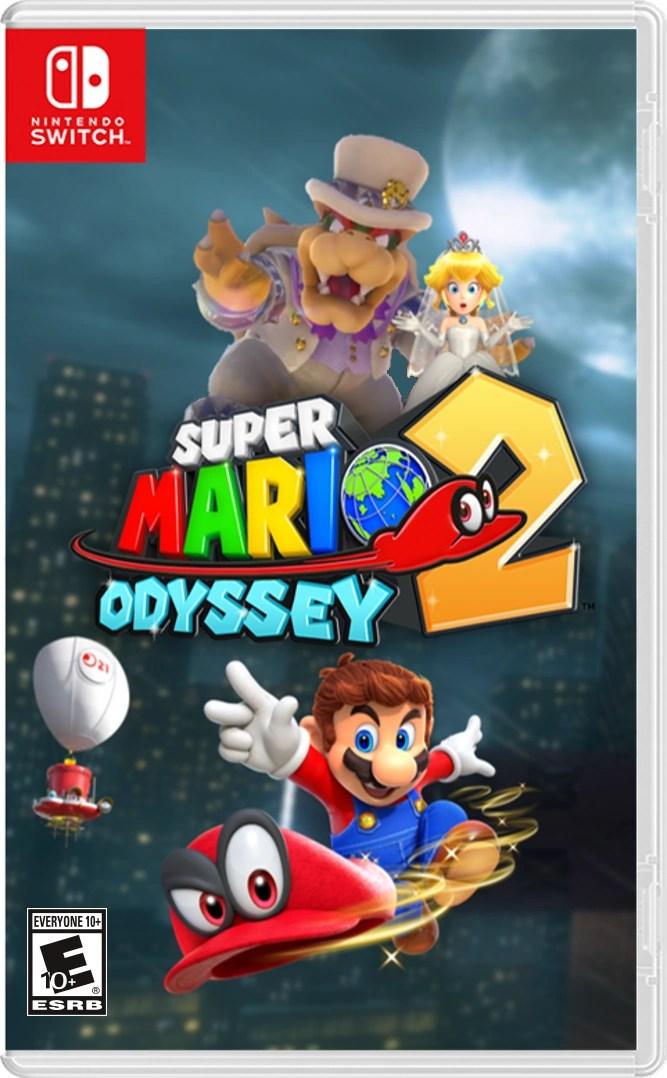 Super Mario Odyssey 2 Popplio Powers Edition Fantendo