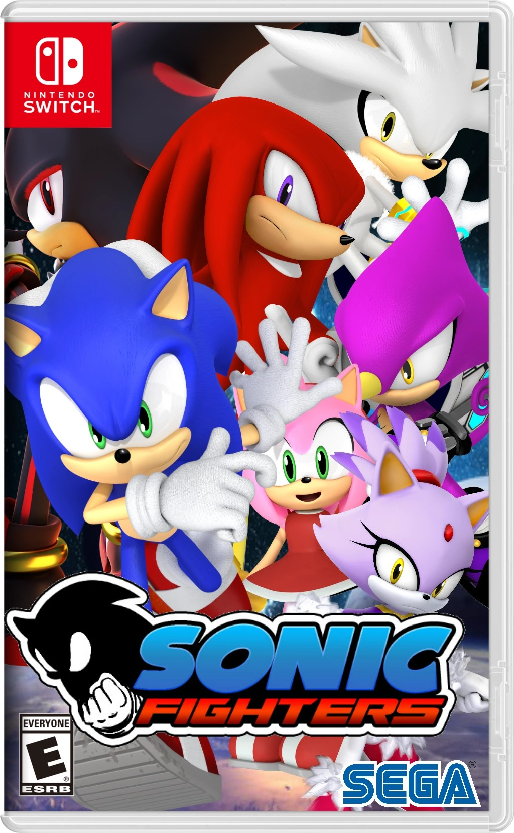 Sonic Fighters Nintendo Switch Fantendo Nintendo