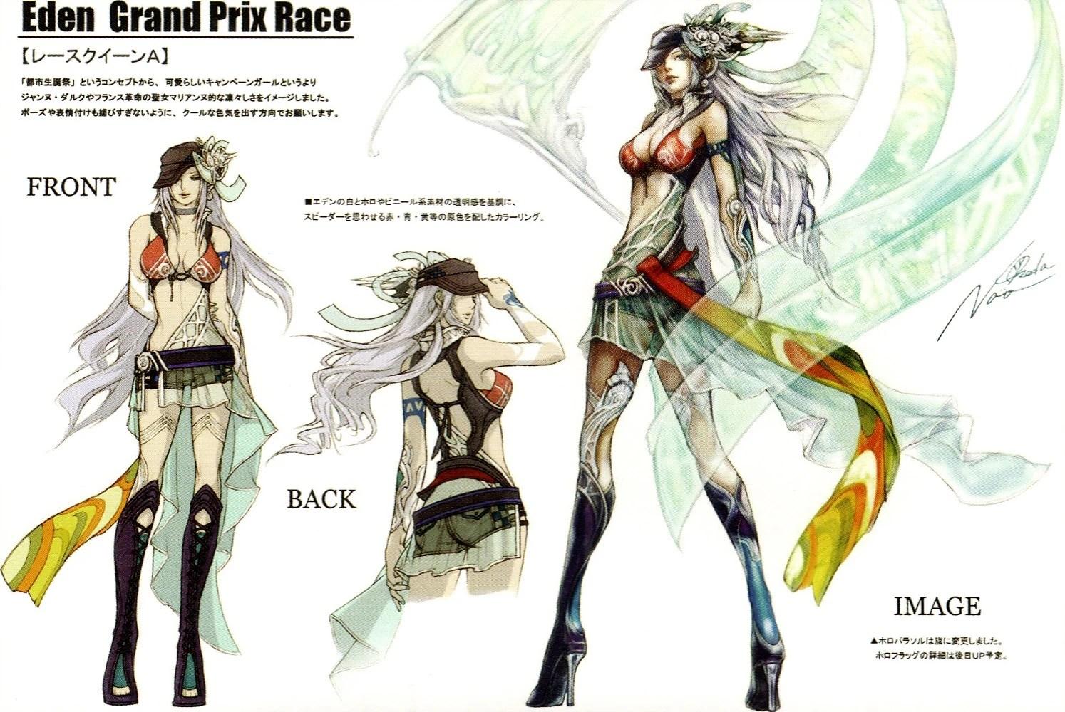 Image Eden Grand Prix Race Show Girljpg Final Fantasy