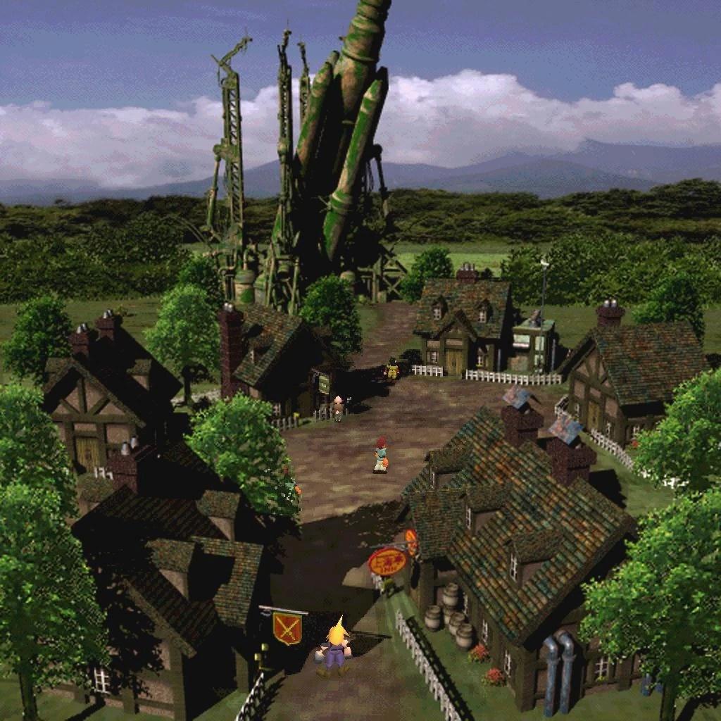 Rocket Town Final Fantasy Wiki FANDOM Powered By Wikia