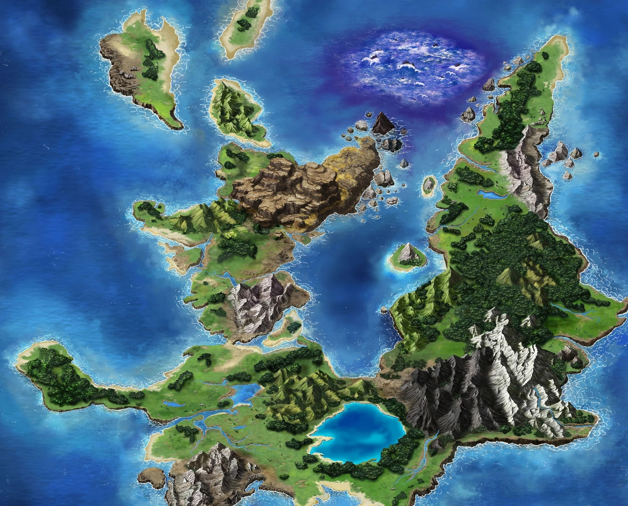 20 Ffv World Map Pictures And Ideas On Meta Networks