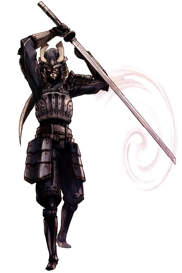Image XI Samurai Artworkjpg Final Fantasy Wiki
