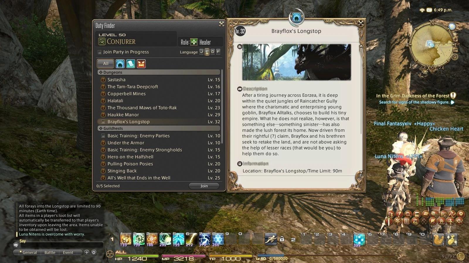 Duty Finder Final Fantasy Wiki FANDOM Powered By Wikia