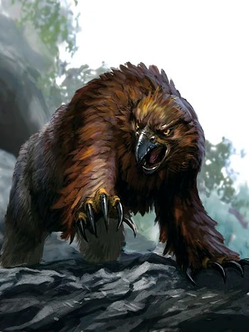 Tiger Cute Drawing Wallpaper Owlbear Forgotten Realms Wiki Fandom Powered By Wikia