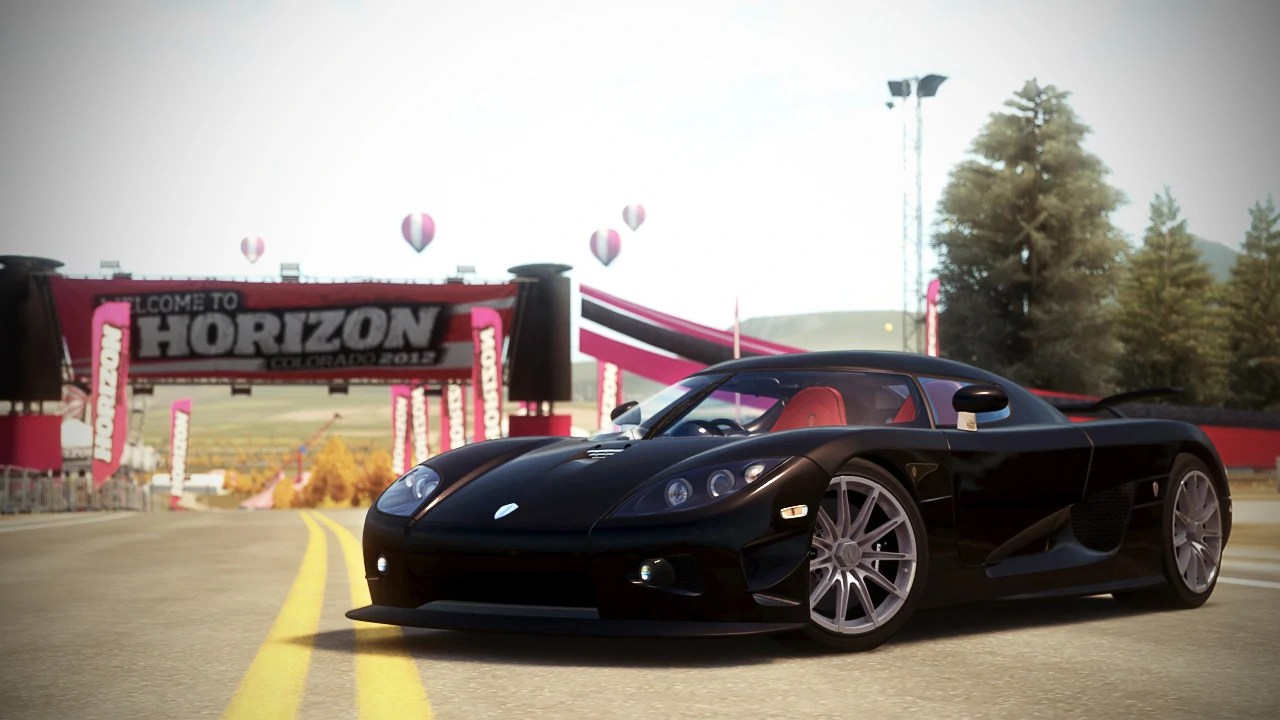 hight resolution of koenigsegg ccx r edition in forza horizon