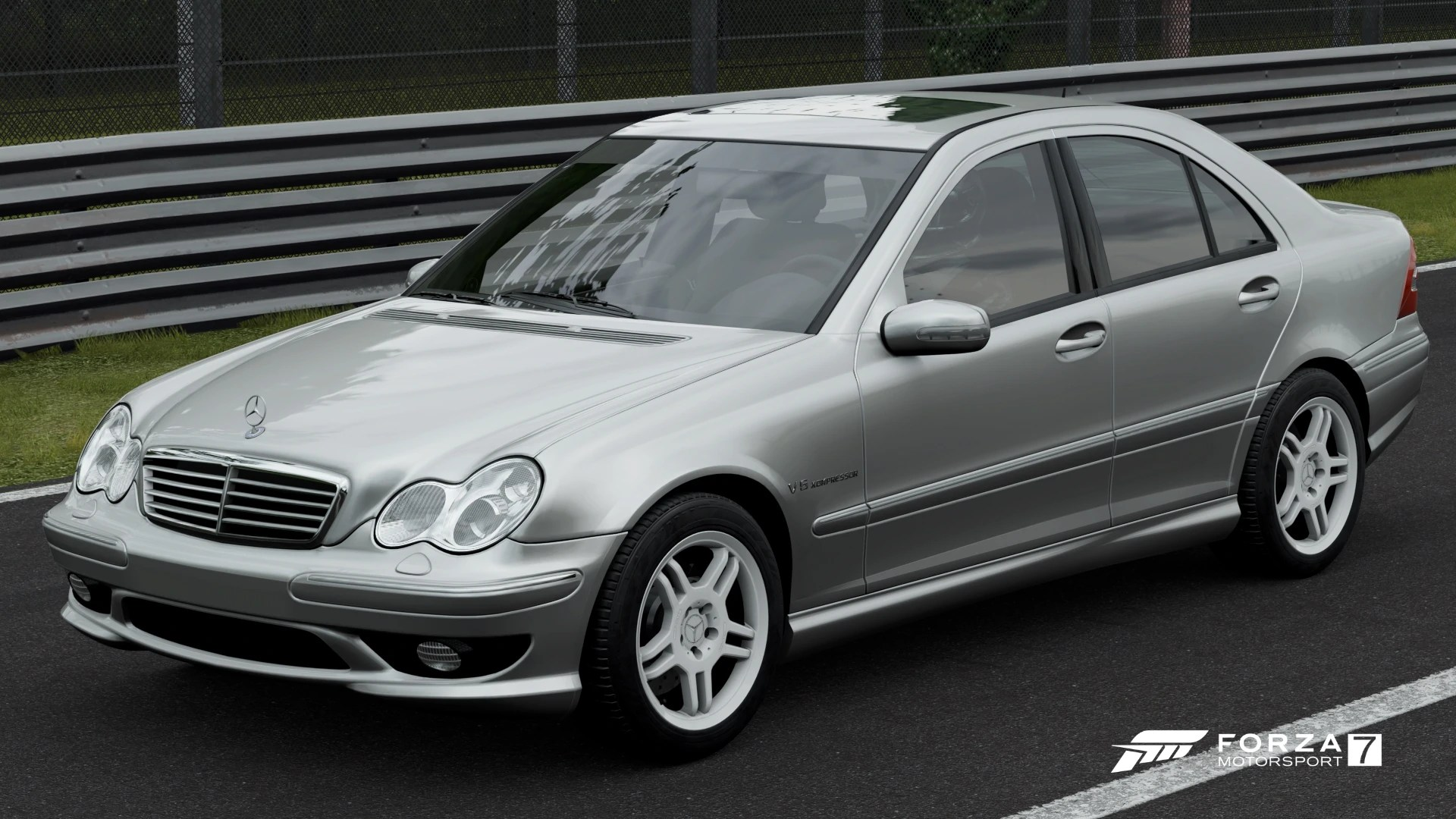 hight resolution of mercedes benz c 32 amg in forza motorsport 7