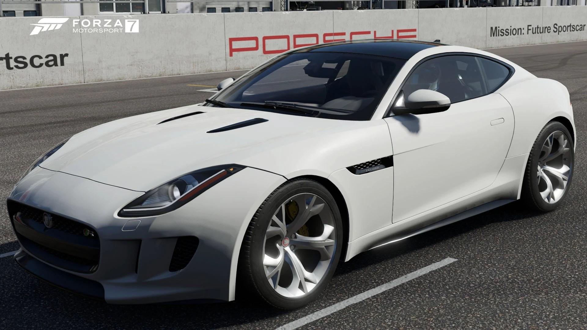 medium resolution of 2015 jaguar f type r coup in forza motorsport 7