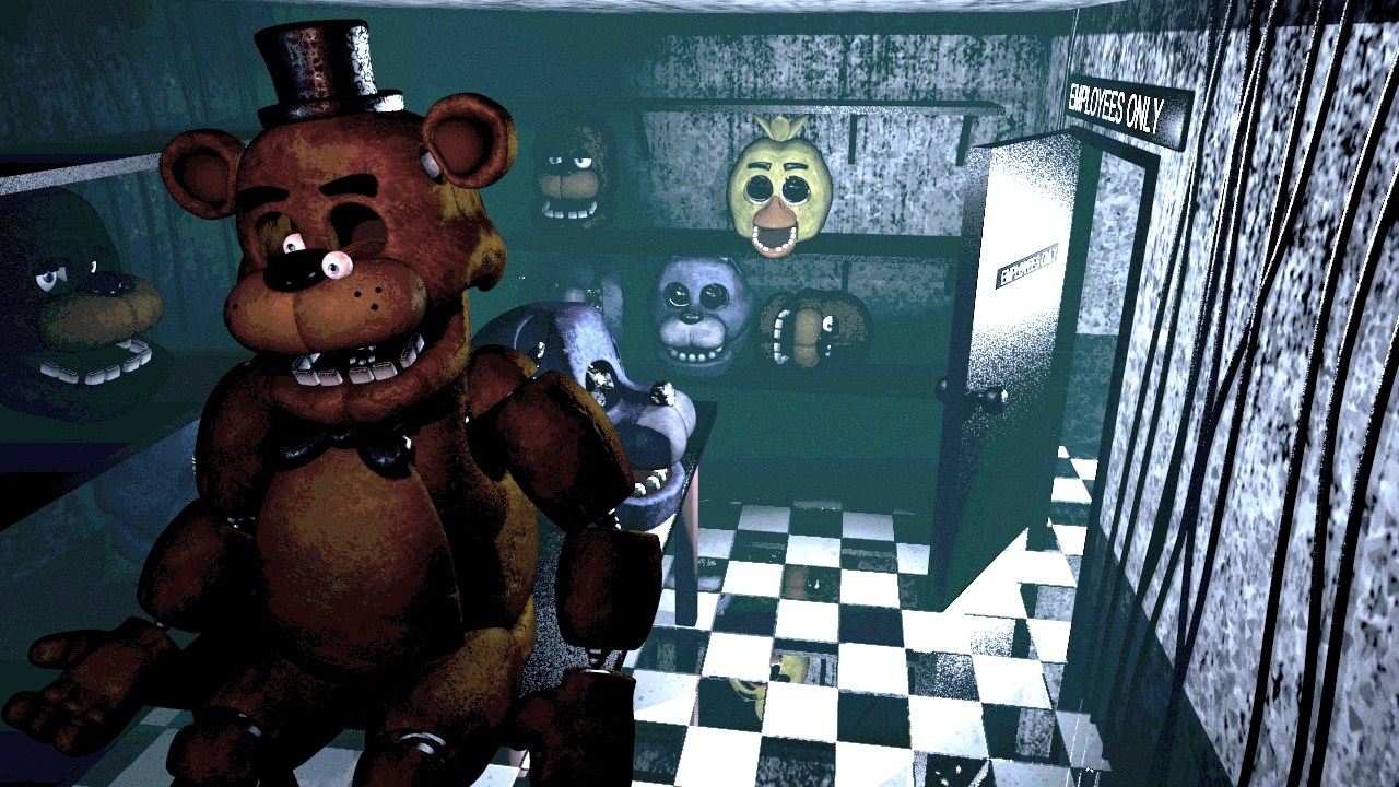 deaths jumpscares five nights