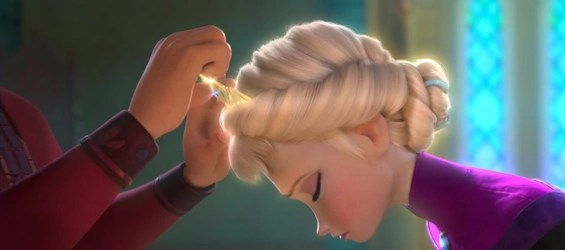 Elsa Frozen Coronation Day