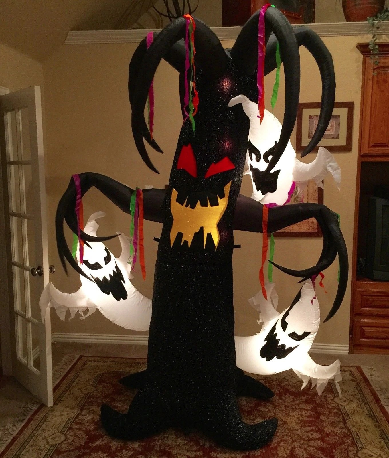 Gemmy Prototype Halloween Tree With Ghosts