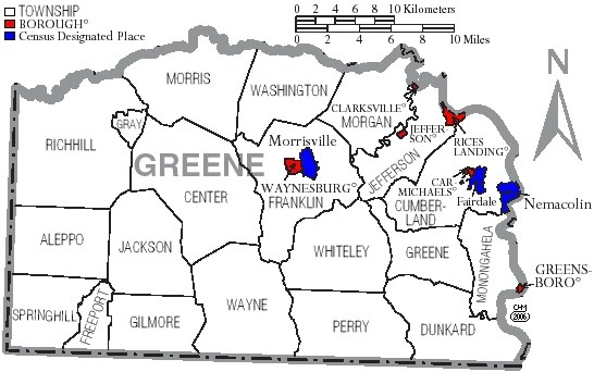 Greene County Pennsylvania Familypedia Fandom Powered