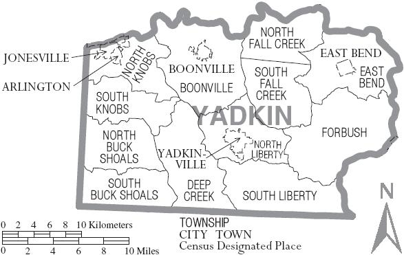 Yadkin County North Carolina Familypedia Fandom