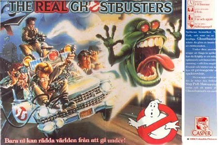 the real ghostbusters board