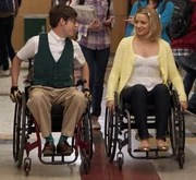 wheelchair glee parsons faux leather chairs artie abrams tv show wiki fandom powered by wikia quartiewheelchairs
