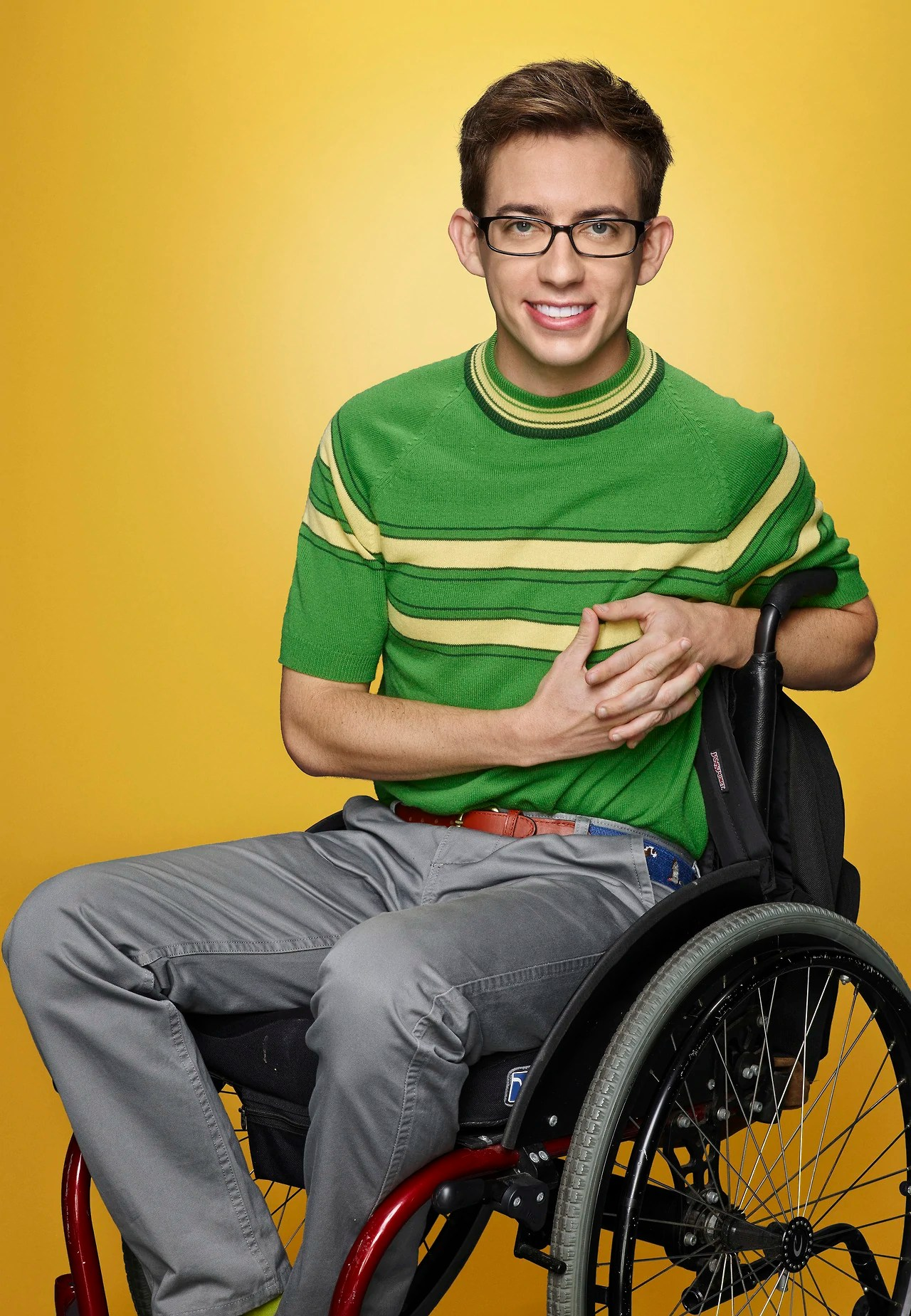 wheelchair glee felt chair protectors artie abrams tv show wiki fandom powered by wikia
