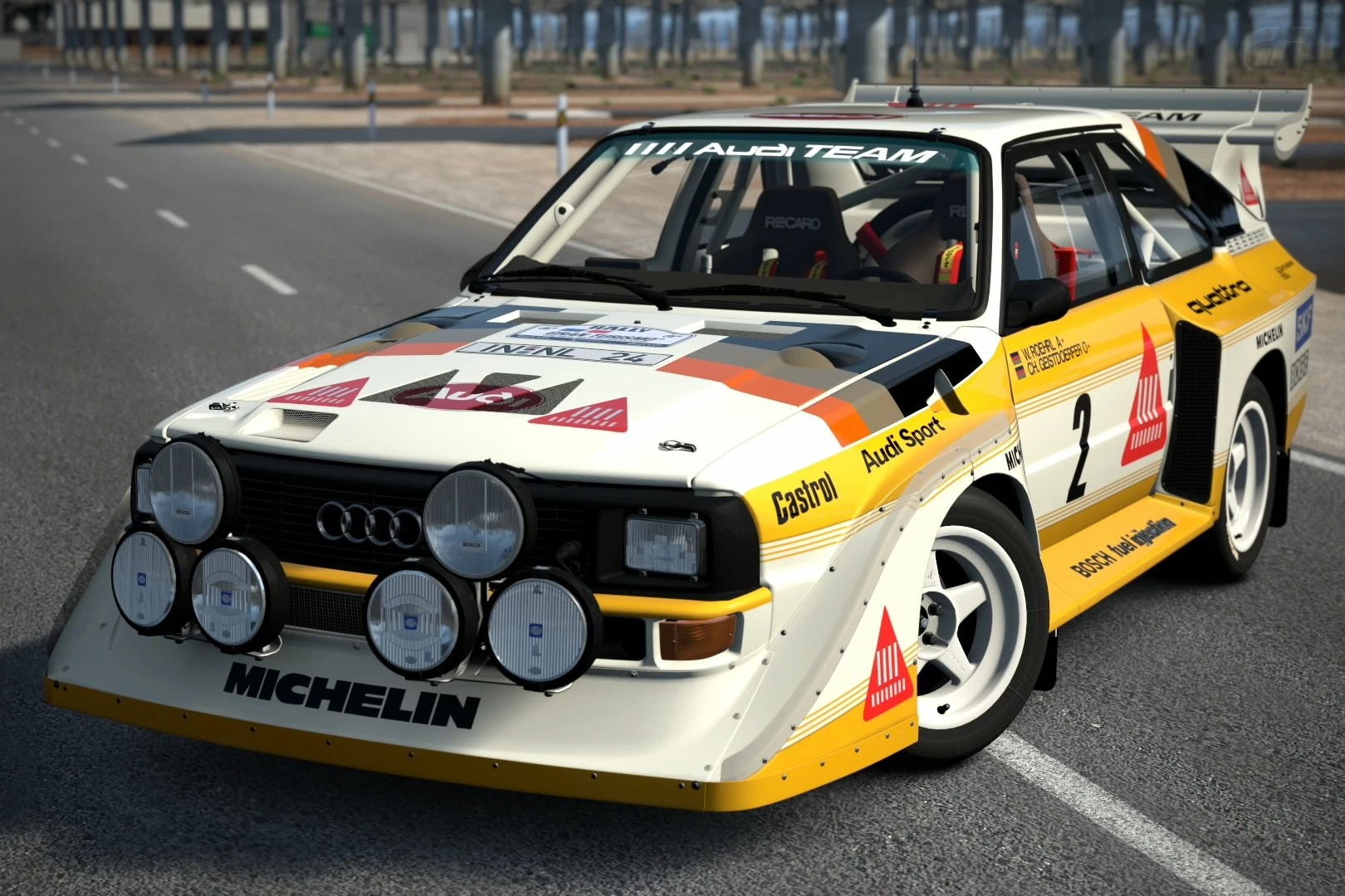 small resolution of audi sport quattro s1 rally car 86