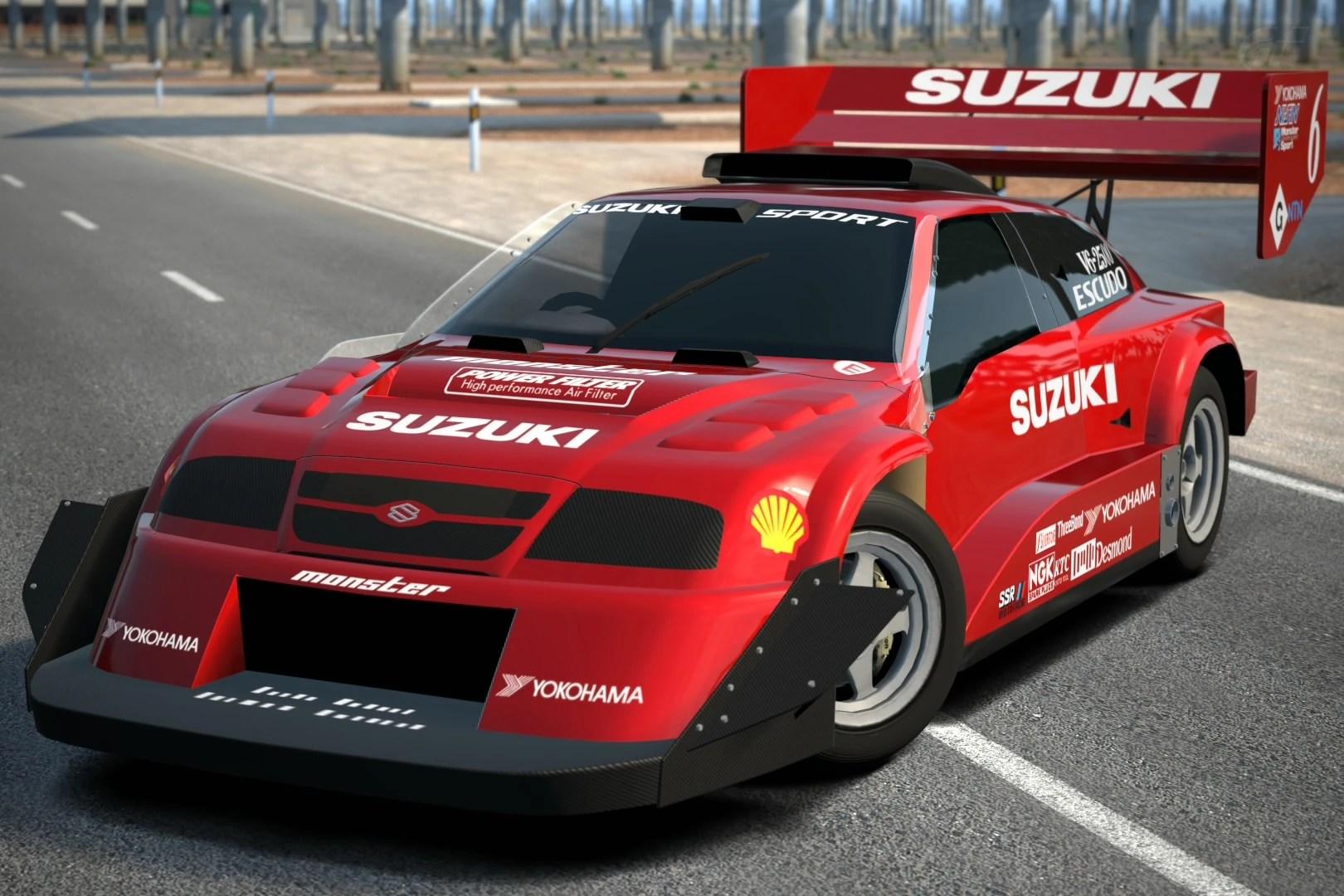 suzuki escudo dirt trial car 98 [ 1620 x 1080 Pixel ]