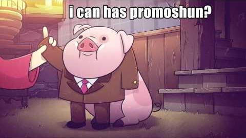 Wallpaper Pato Gravity Falls Video S1e12 Waddles Memes Promo Gravity Falls Wiki
