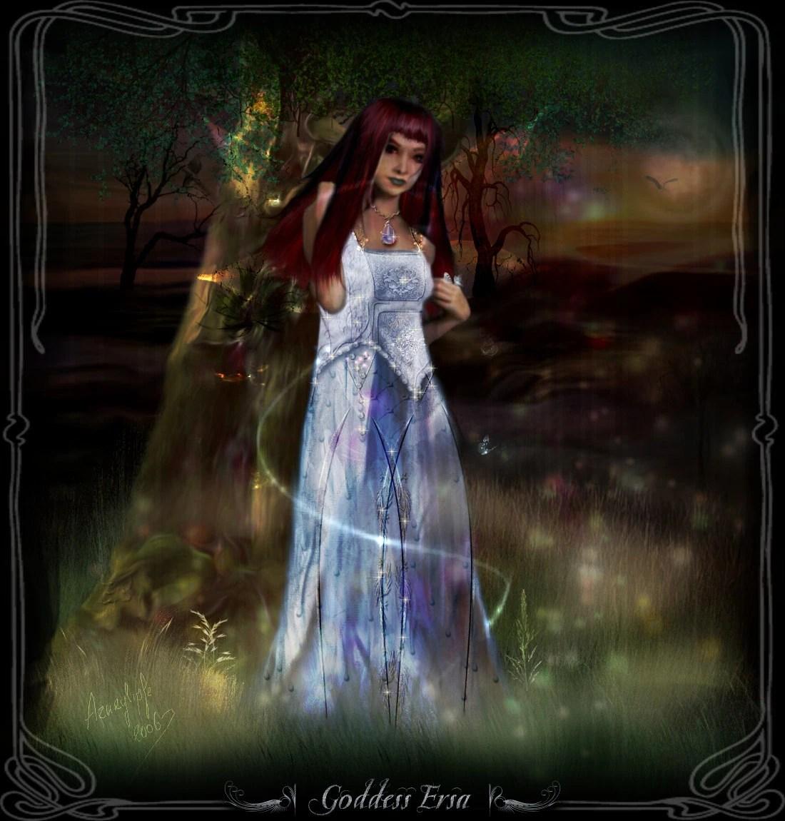 Ersa Greek-goddesses Wiki Fandom Powered Wikia