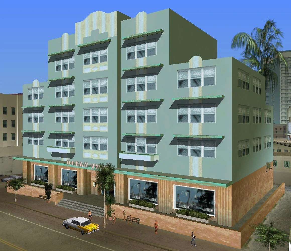 GTA Vice City Ocean View Hotel