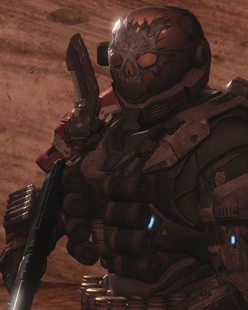 Halo Reach Skull Helmet : reach, skull, helmet, Reach, Spartan, Skull, Helmet