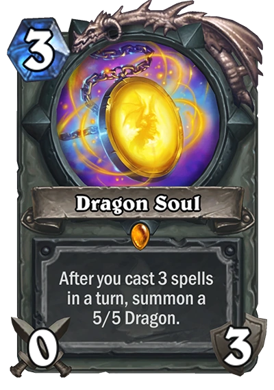 dragon soul hearthstone heroes
