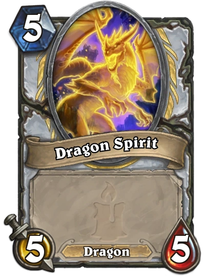 dragon spirit hearthstone heroes
