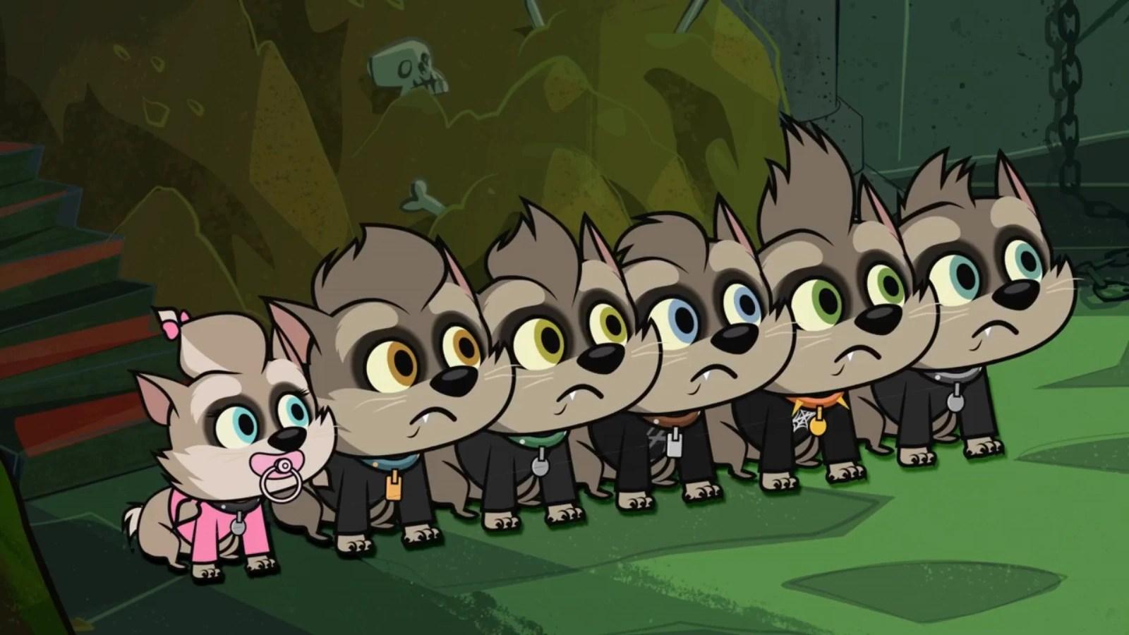 Werewolf Kids Tv Series Hotel Transylvania Wiki