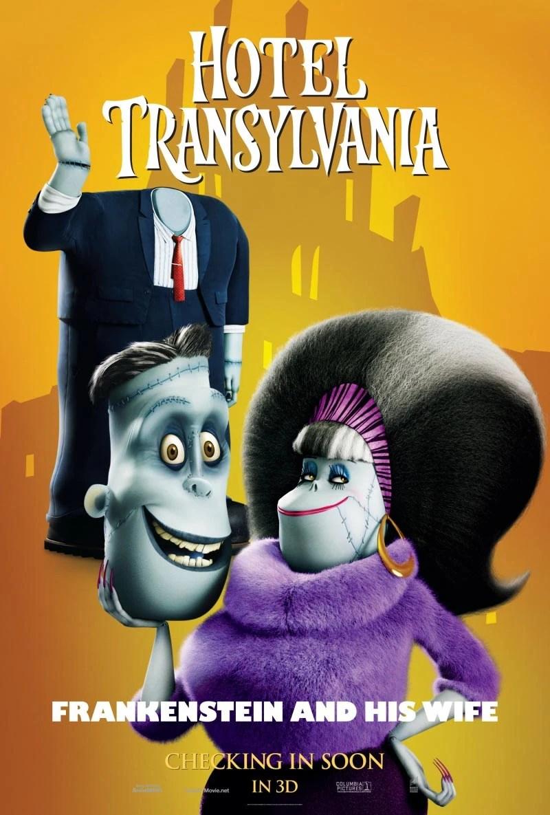 Hotel Transylvania Frankenstein Wife