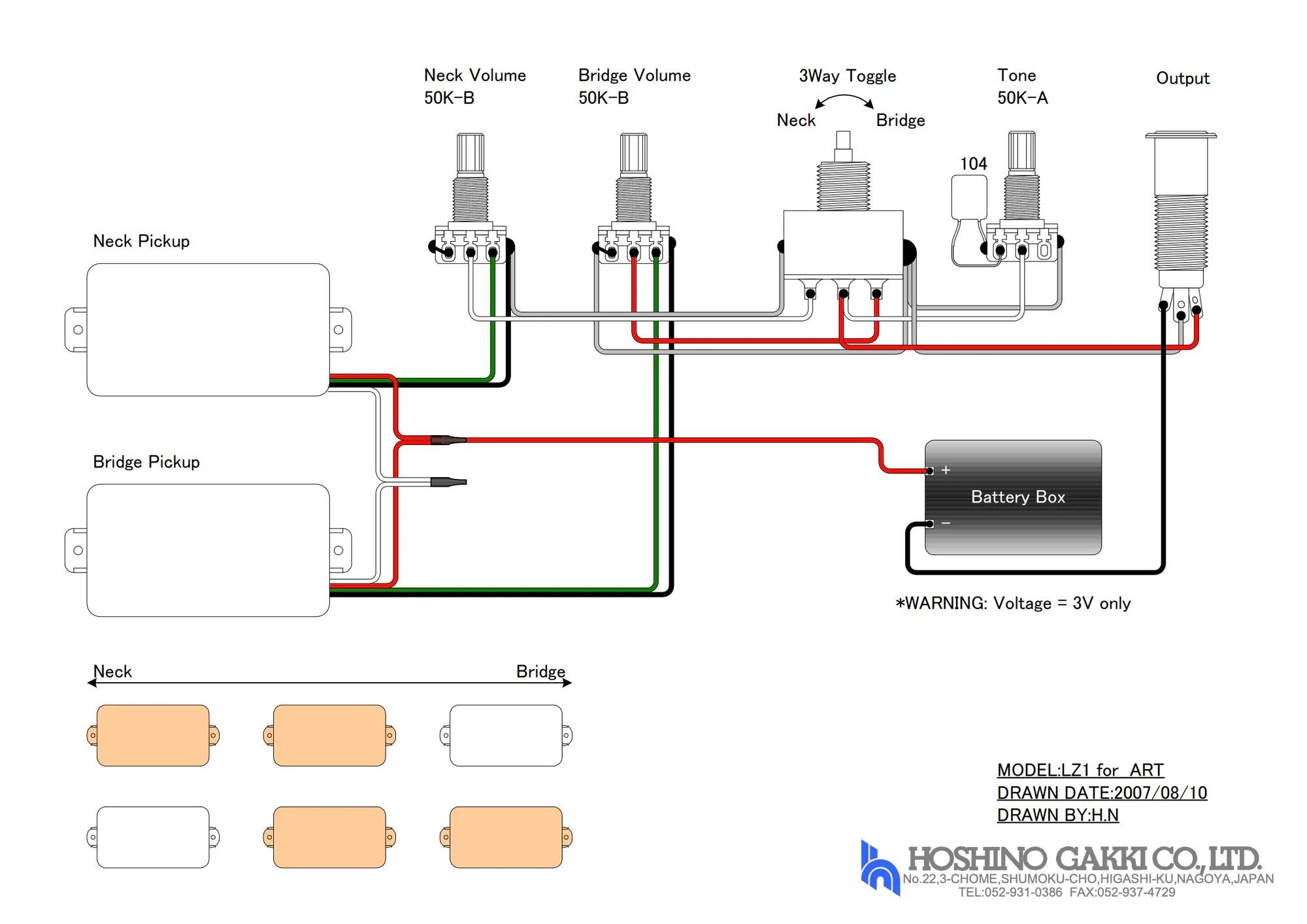 medium resolution of humbucker wiring diagram 320 art wiring diagram valueart 320 humbucker wiring diagram wiring diagram sessions art