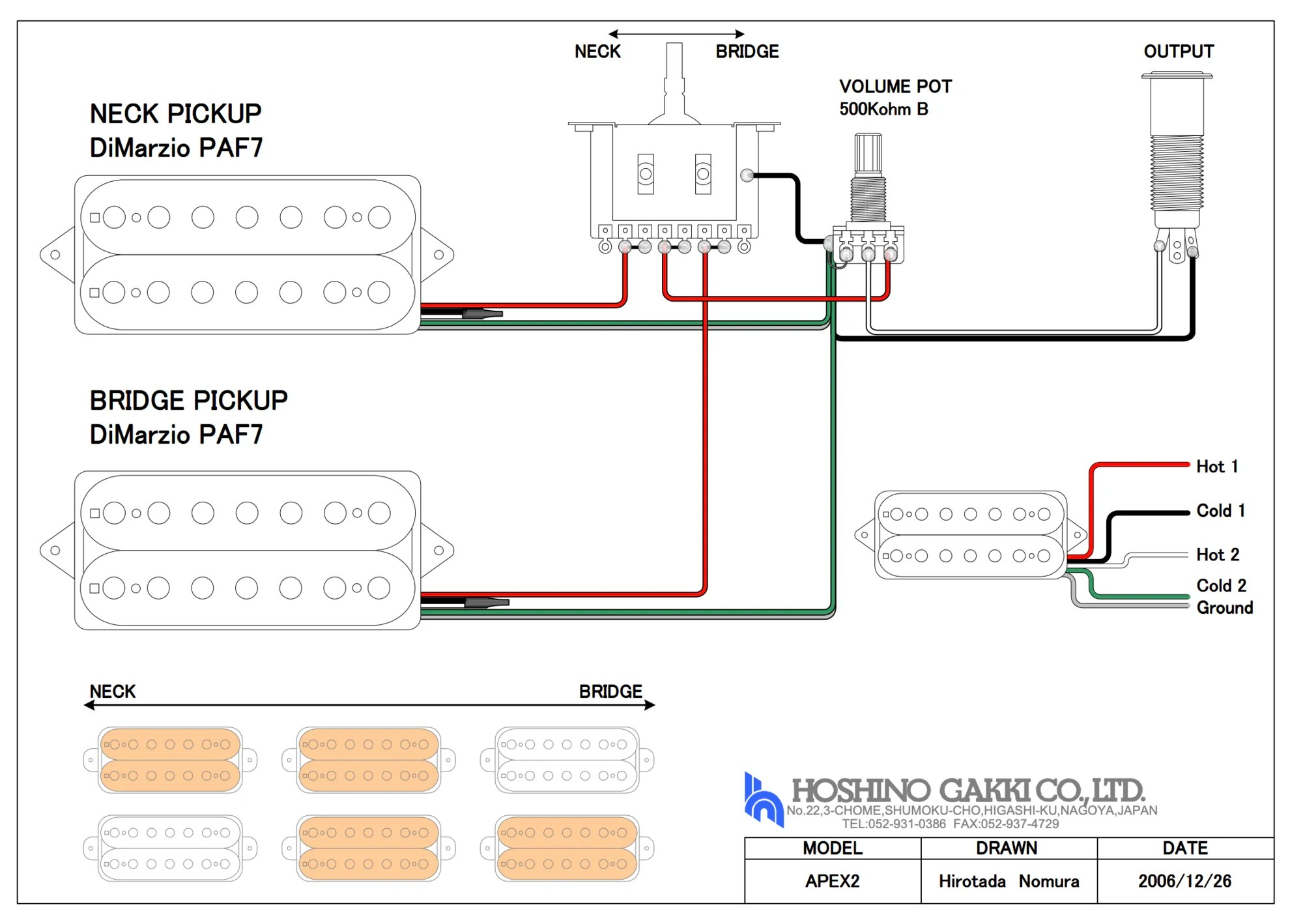 medium resolution of dimarzio series parallel wiring diagram