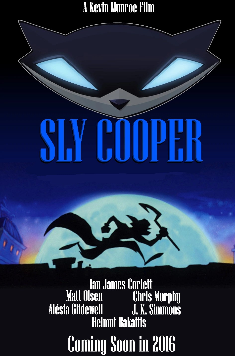 sly cooper film idea