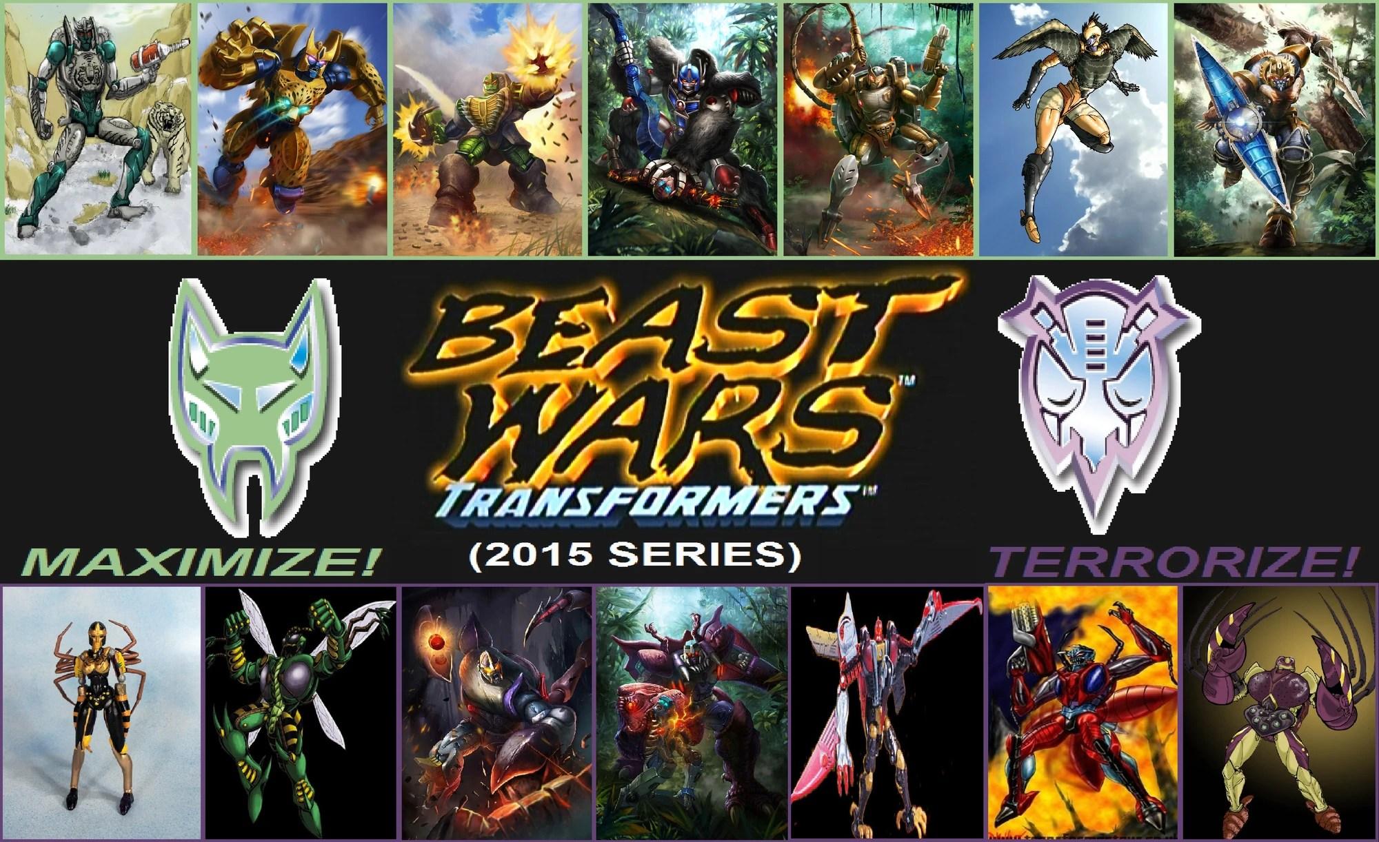 Beast Wars Transformers 2015 Series Idea Wiki