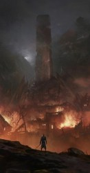 fantasy epic concept dark valyria dump artwork empire landscape throne rpg iron medieval paintings dragon landscapes imgur digital 3d