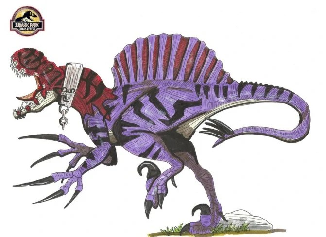 Accurate Spinosaurus Drawing