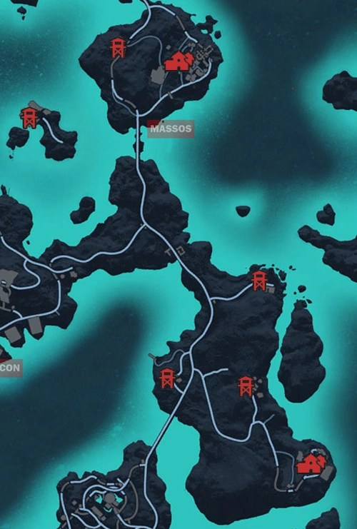 Just Cause 3 Maestrale Map : cause, maestrale, Cause, Maestrale, World, Atlas
