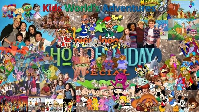 Kids World's Adventures of Nickelodeon's Ho Ho Holiday Special | Kids World's Adventures Wiki | Fandom
