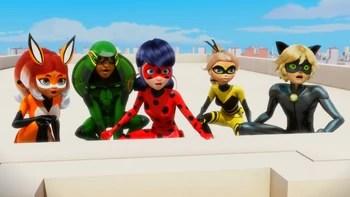 French Miraculous Superhero Team Miraculous Ladybug Wiki