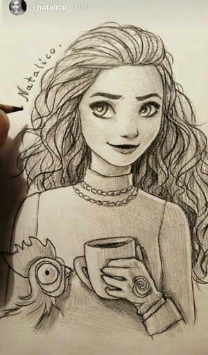 cool drawings amazing pretty draw sketches highschool lakewood wikia academy