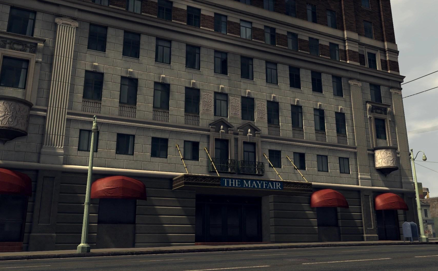 Mayfair Hotel Los Angeles Haunted