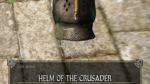 Helm Of The Crusader Legacy Of The Dragonborn FANDOM