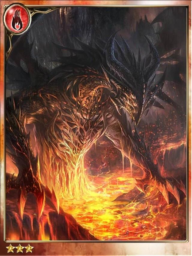 lava dragon born of