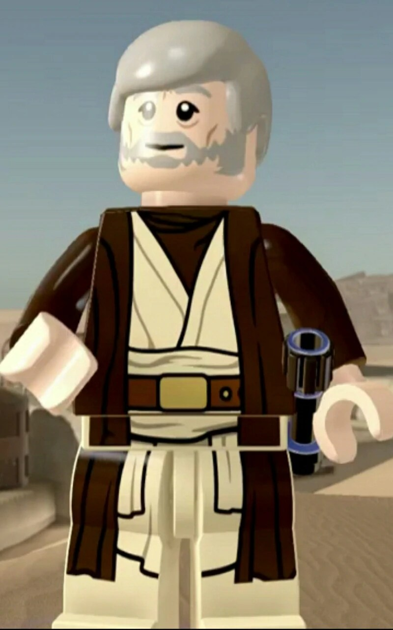Lego Obi Wan Icon : Complete