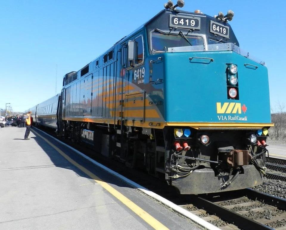 Via Rail F40ph 3d Locomotive Wiki Fandom