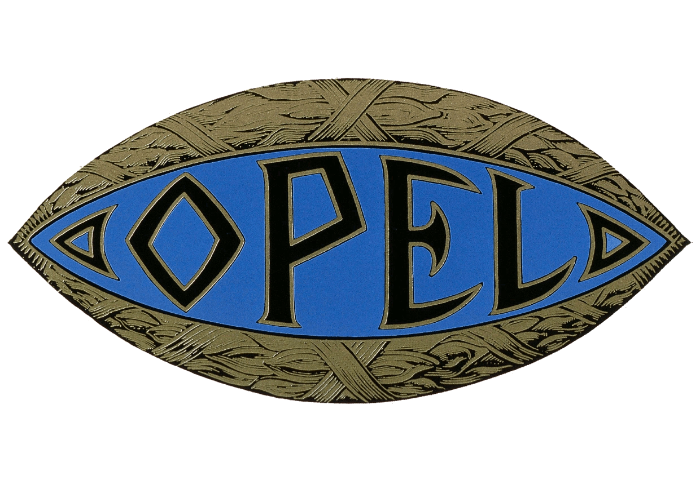 medium resolution of 1910 1937 opel logo 1910