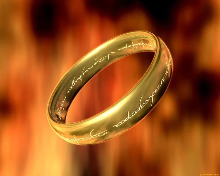 ring inscription the one