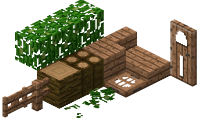 Jungle Wood Planks | Wooden Thing