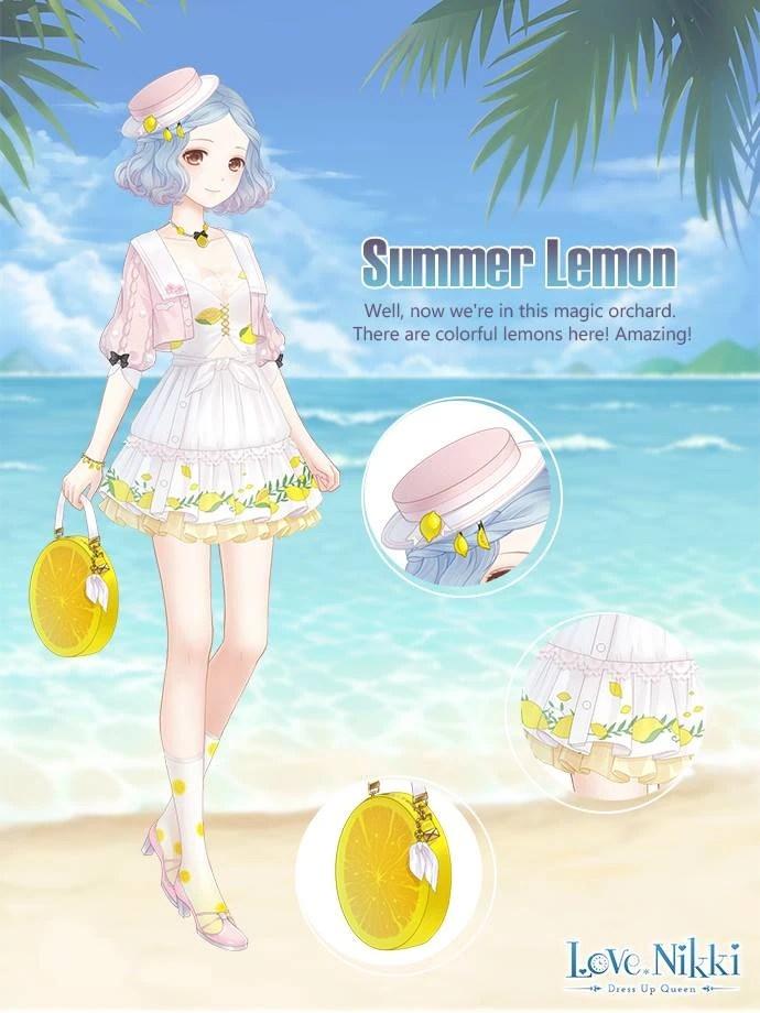 Summer Lemon Love Nikki Dress UP Queen Wiki FANDOM