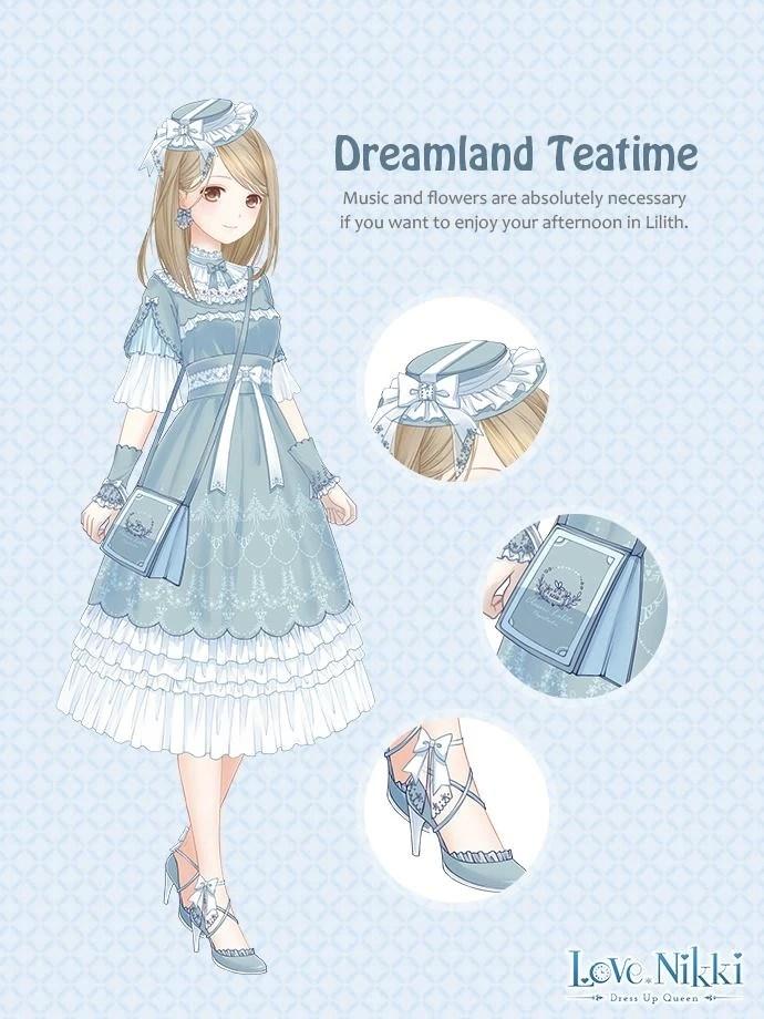 Dreamland Teatime  Love NikkiDress UP Queen Wiki